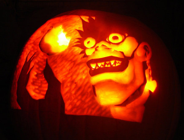 pumpkin carvings by seth t hahne